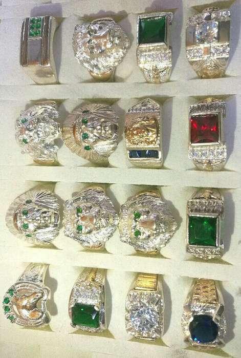 Anillos Plata 925 con <strong>oro</strong> Nuevos Modelos