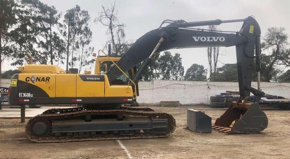 Excavadora Volvo 360