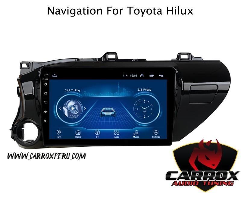 TOYOTA HILUX 2016 2018 AUTORADIO ANDROID GPS BLUETOOTH
