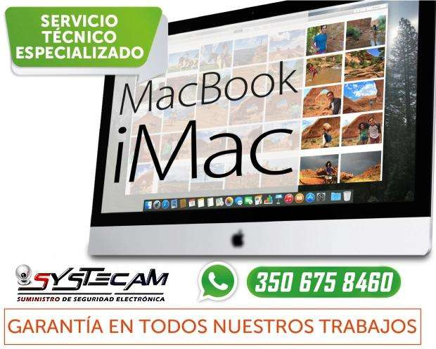 Servicio Tecnico Especializado en Macbook y Imac