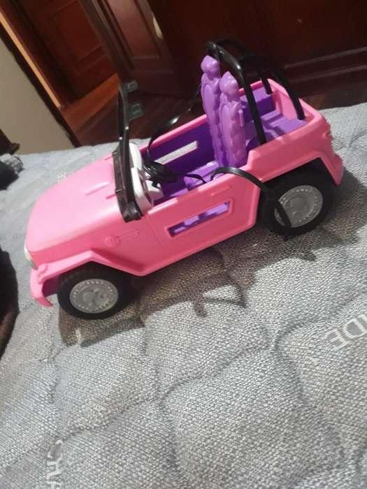 Carro de Barbie