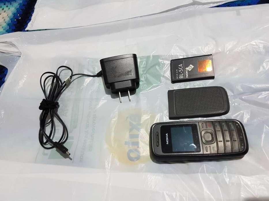 Vendo Celular Nokia 1208b de segunda mano en Medellín.