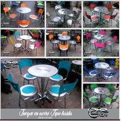 fabrica de sillas mesa muebles sofa para el hogar bar restaurante cafeterias fruteria comida rapidas