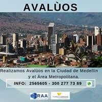 AVALÚOS, CONSTRUCCIONES, PLANOS TODO ESTO EN LA CIUDAD DE MEDELLIN