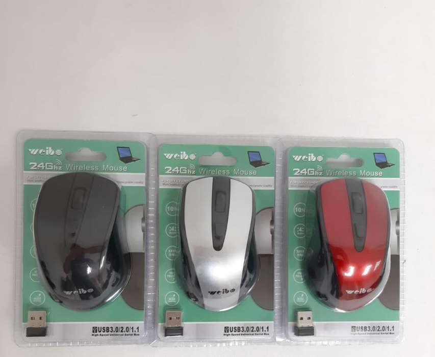 Mouse Wireless con Luz Led