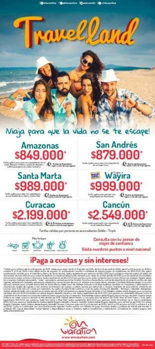 Paquetes Todo Incluido en Colombia