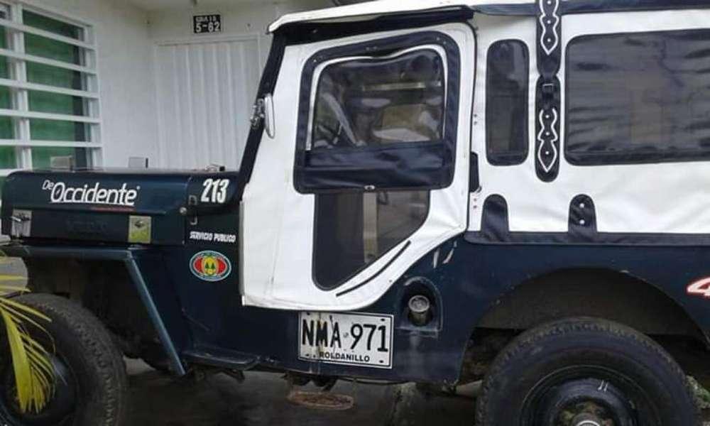 JEEP Willys 1962 - 10000000 km