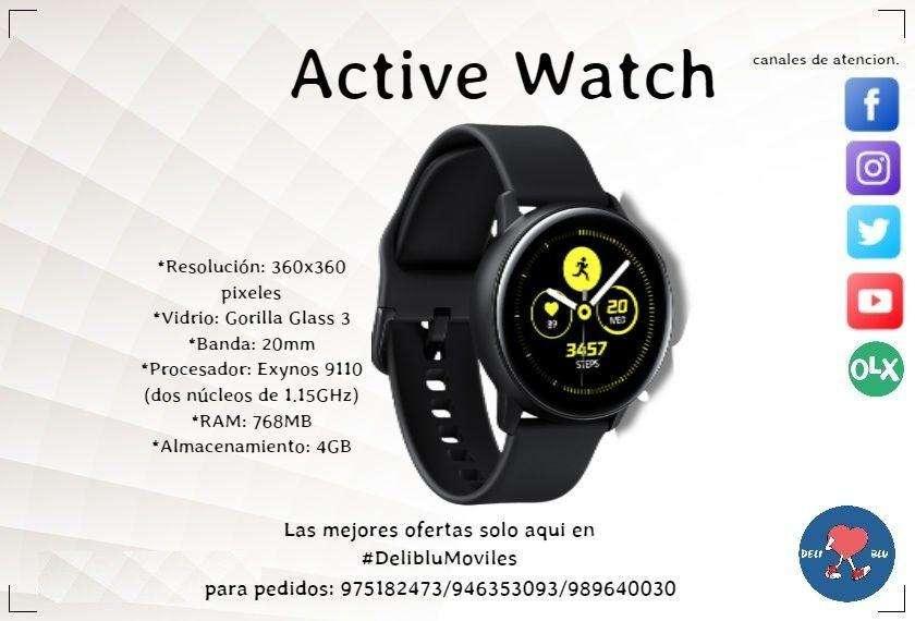 Samsung Galaxy Watch Active SOMOS DELIBLU MOVILES 946353093