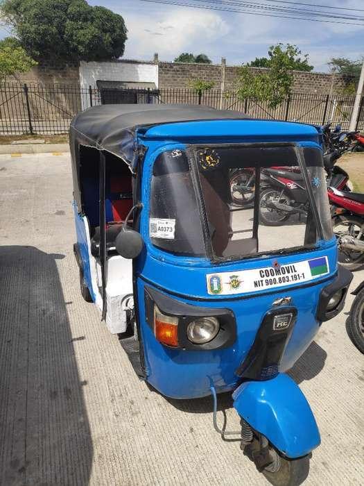 Motocarro Azul