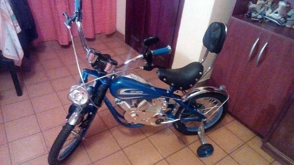 Bicicleta para Niños Estilo Harley