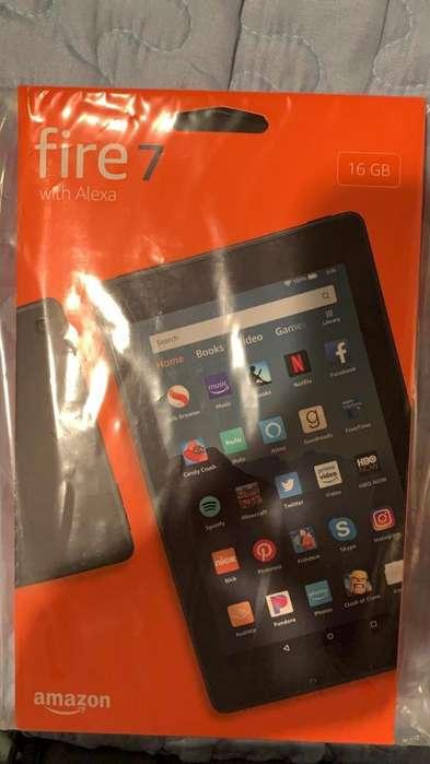 oportunidad Tablet Fire 7 de 16 gb nuevo USD. 74,99