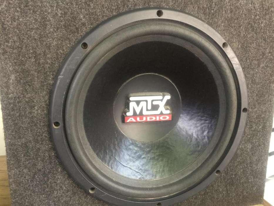 """subwoofer MTX 10"""" thunder 4000"""