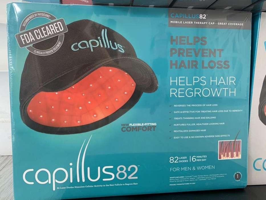 Gorra laser capillus 82 para la regeneración del pelo