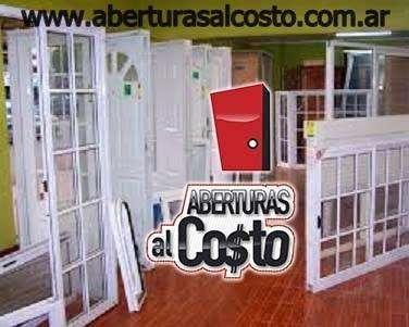 Ventanas y puertas al costo EFECTIVO 10 de DESCUENTO!!!