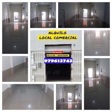 ALQUILO LOCAL COMERCIAL CENTRO DE #CHICLAYO PERU