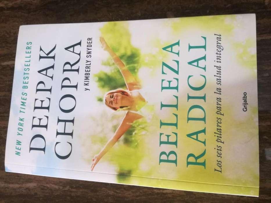 Libro Belleza radical de Deepak Chopra