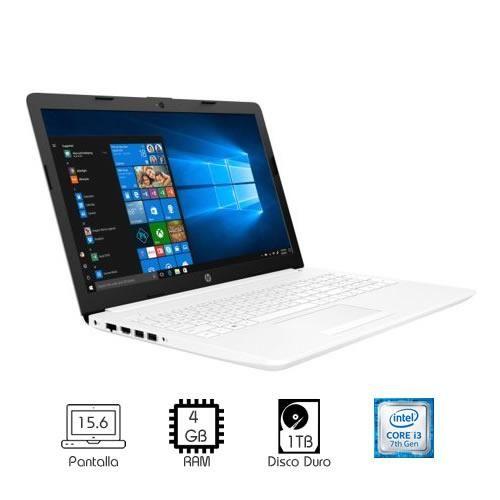 LAPTOP HP 15-da0043nr i3-7020U 4GB RAM 1TB 15.6