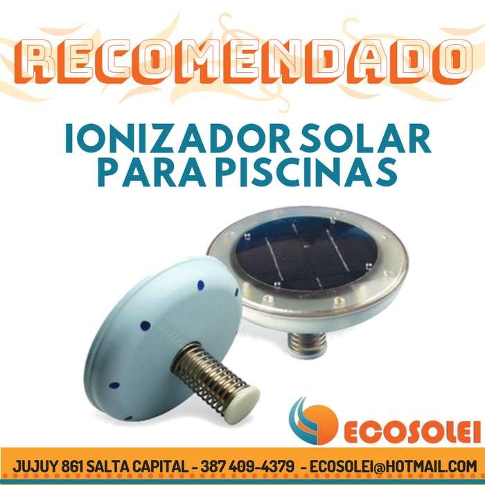 Ionizador Solar para <strong>piscina</strong>s Salta