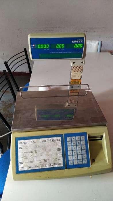 Balanza Report Kretz 30kg Impresor