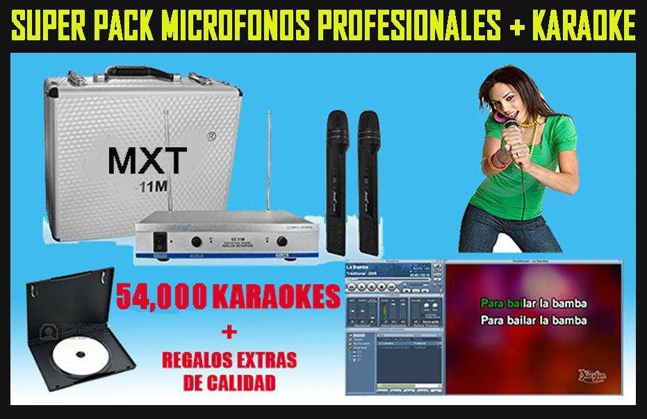Microfonos Inalambricos MXT Profesionales excelente Calidad Nitidez Venta todo el Peru