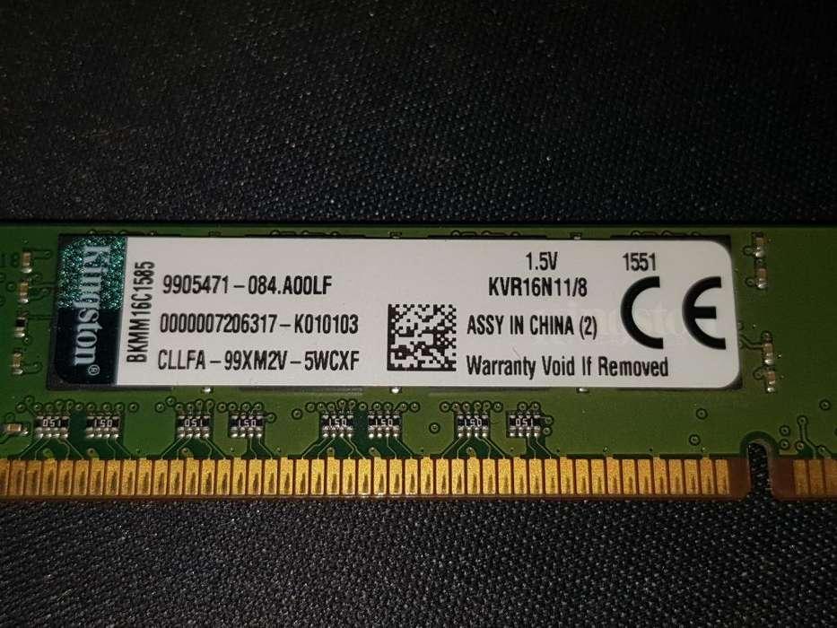 Memoria Ram 8gb Ddr3 1600 Mhz