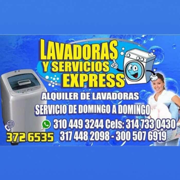 Alquiler Y Servicio Técnico de Lavadoras