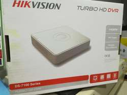 NUEVO OFERTA Dvr 4 Canal TURBO HD HIKVISION   12 Meses Garant