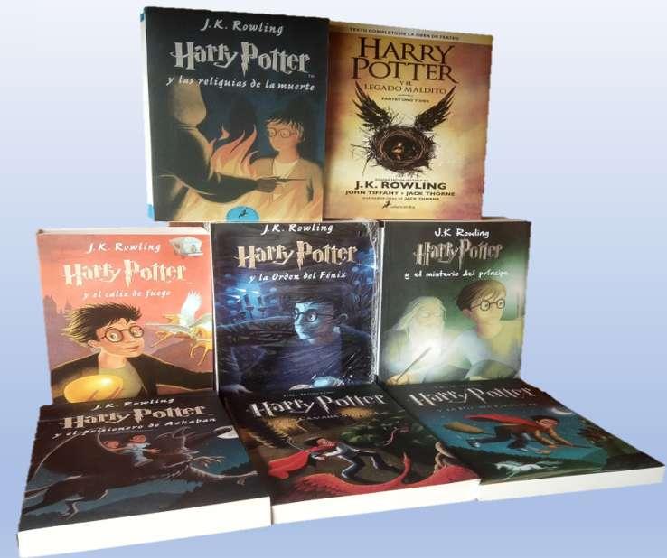 Coleccion Harry Potter X 10 Libros Obsequios ver fotos Gratis envio