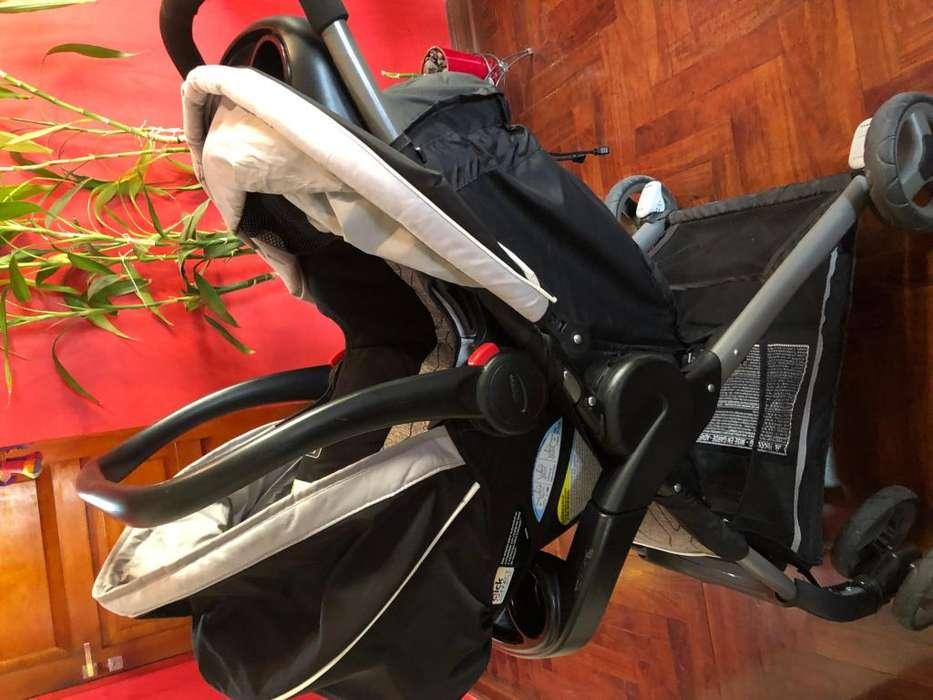Coche bebe - Stroller Graco 3 en 1 ( asiento para auto)