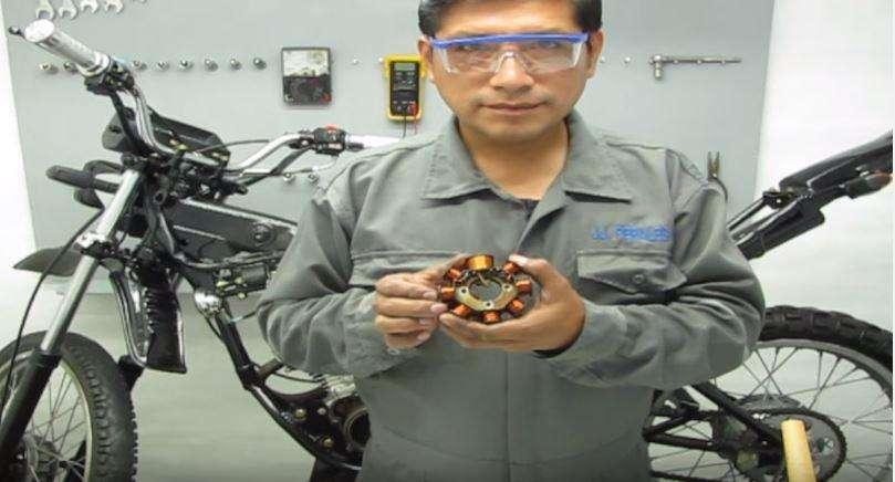 Rebobino Alternador de moto lineal, cuatrimoto Yamaha honda Ktm Rtm Piaggio Kawasaki Suzuki Ronco Motos Chinas
