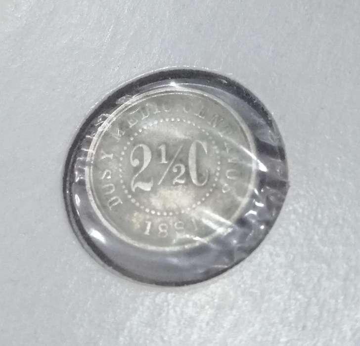 Antigua Moneda 1881