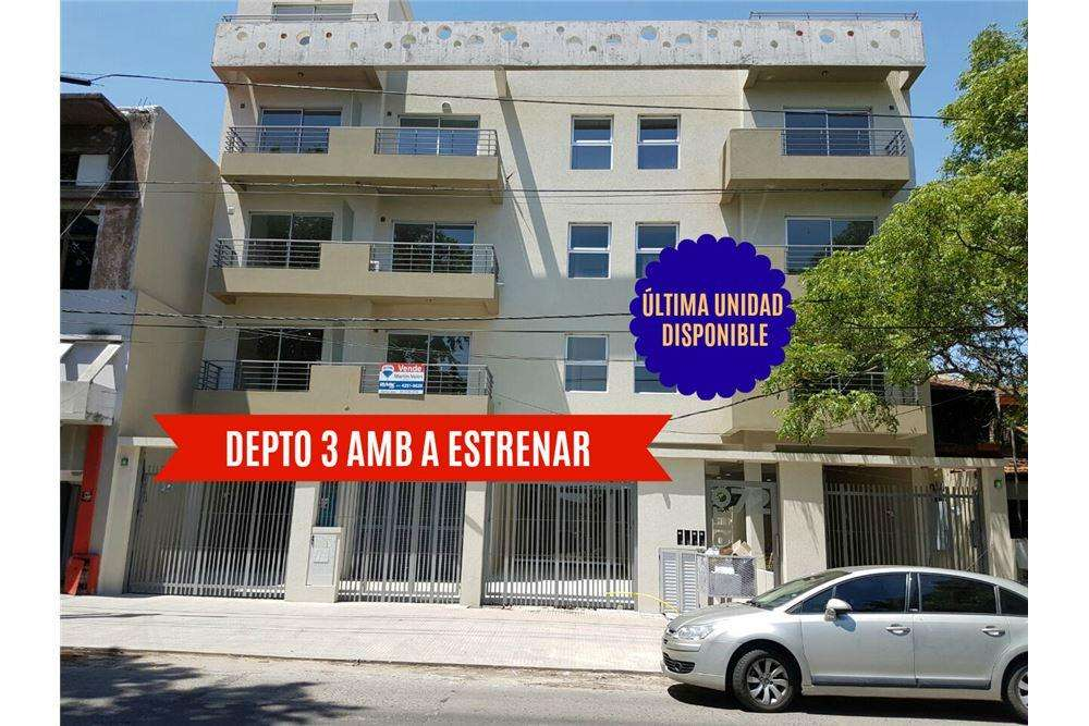 VENTA DEPTO 3 AMB CON COCHERA DOBLE BERNAL
