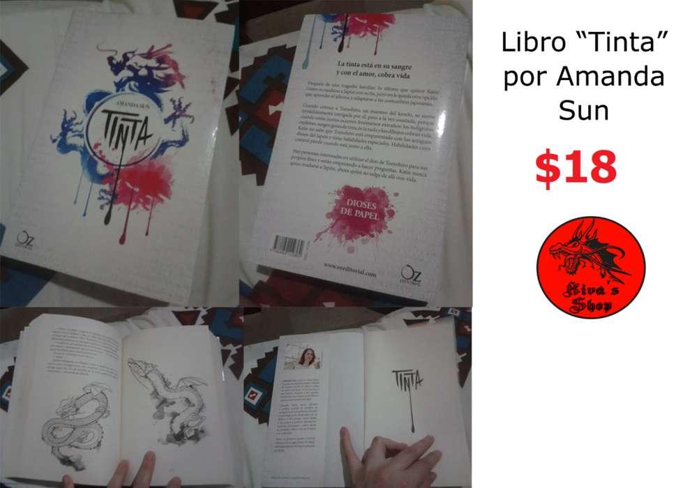 Libro Tinta Por Amanda Sun, En Español