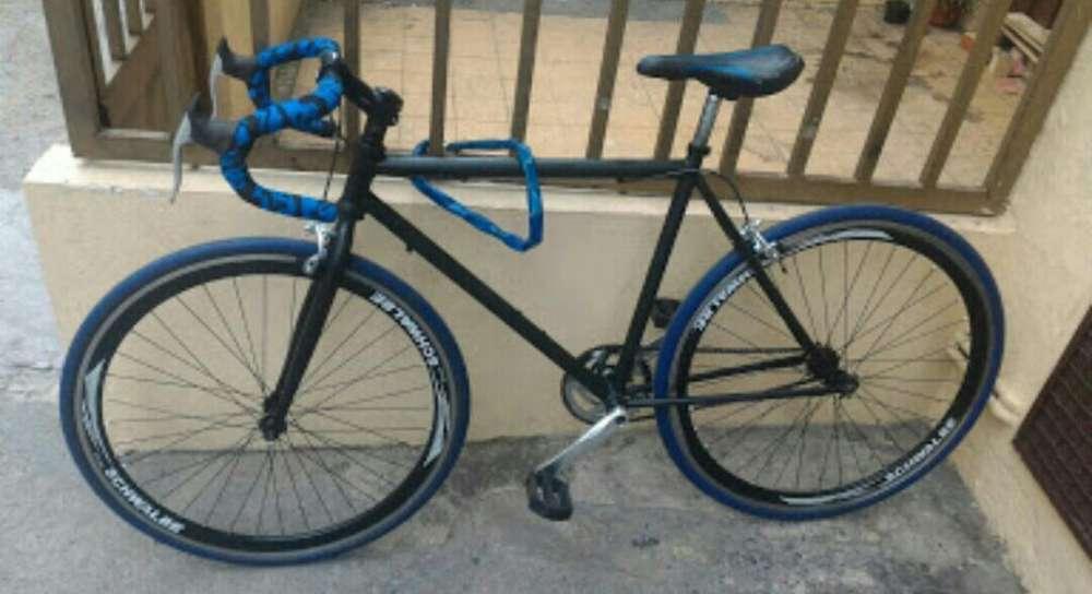 Bicicleta Fixie Ganga