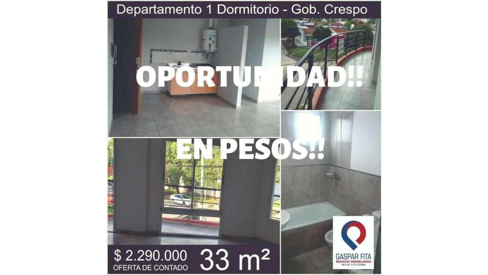 En Venta!! Edificio Gdor. Crespo! 100 - 2.290.000 - Departamento en Venta
