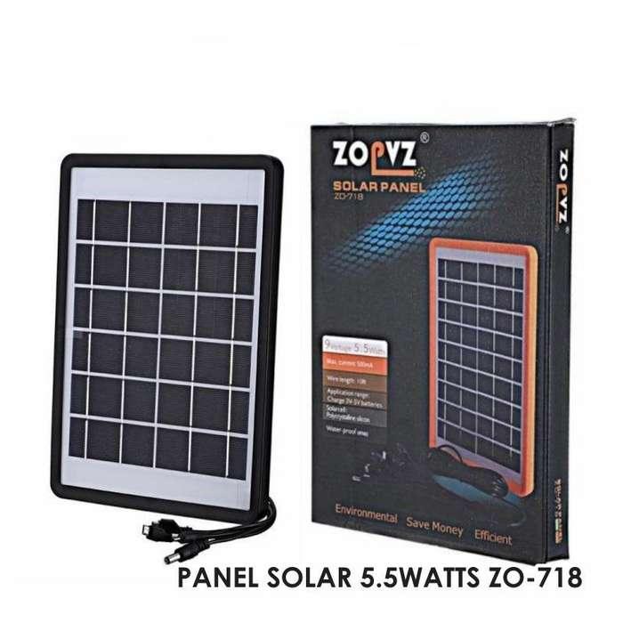 PANEL SOLAR 5.5WATTS ZO-718