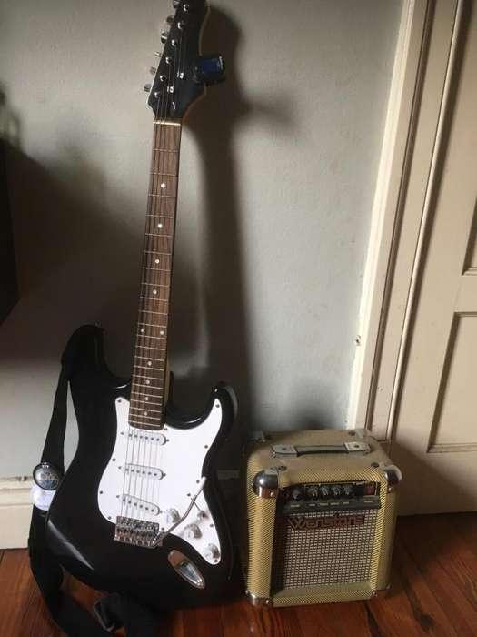 Guitarra Electrica Kansas Mas Accesorios