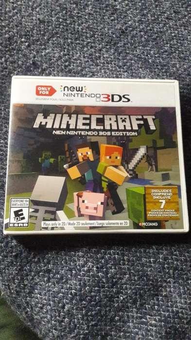 Minecraft Nintendo 3ds New en Caja