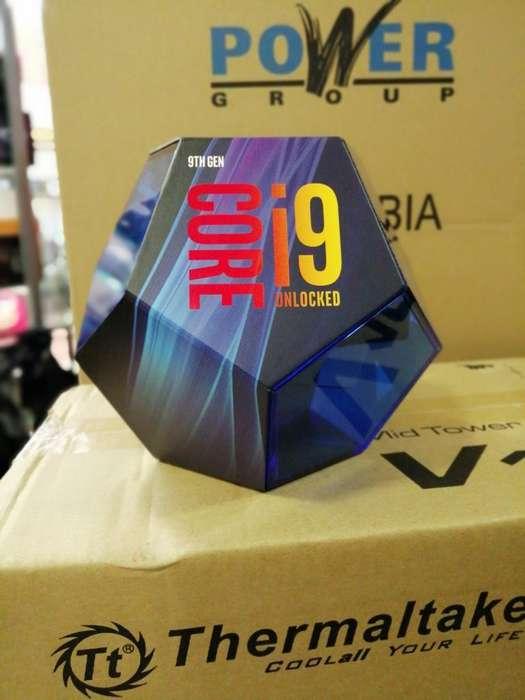 Procesador Intel Core I9 9900k.