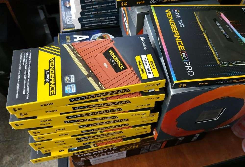 REMATO MEMORIA RAM DDR4 8GB 2666 MHZ