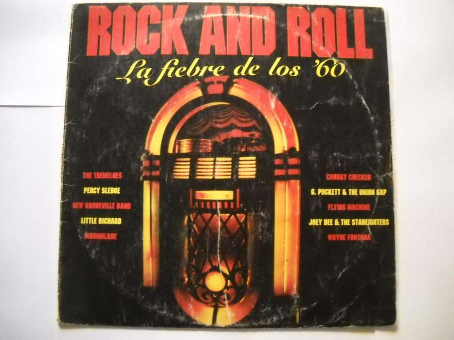 rock and roll la fiebre de los '60 vinilo estado aceptable
