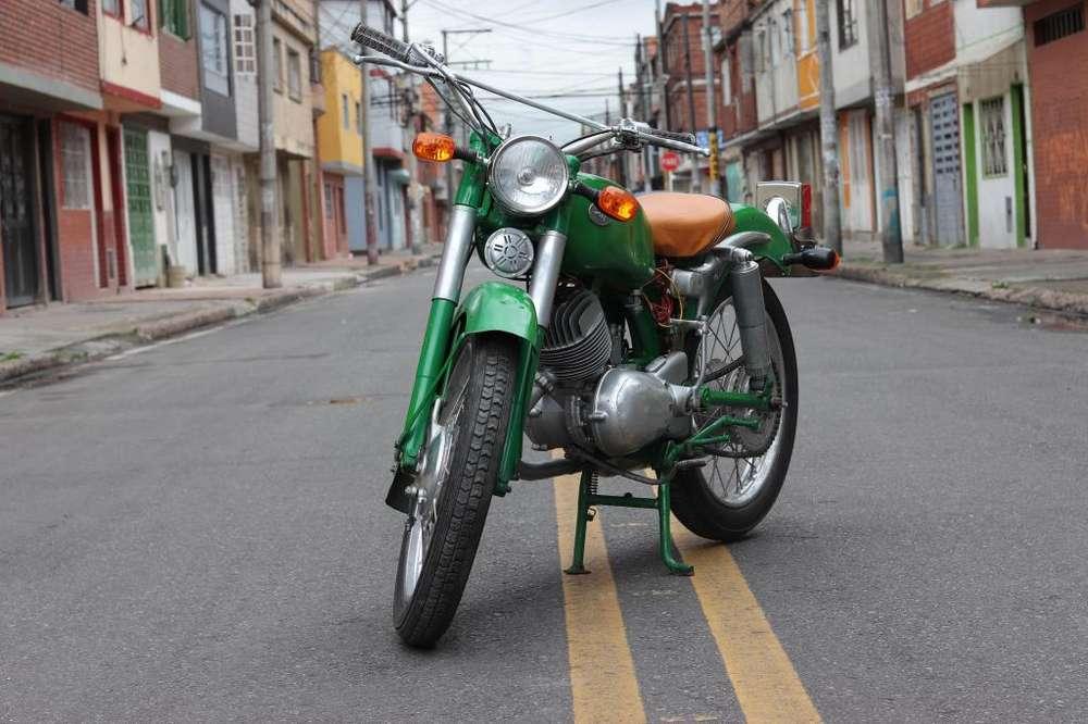 GANGA !!!MOTO CLÁSICA ZUNDAPP ELASTIC 250.