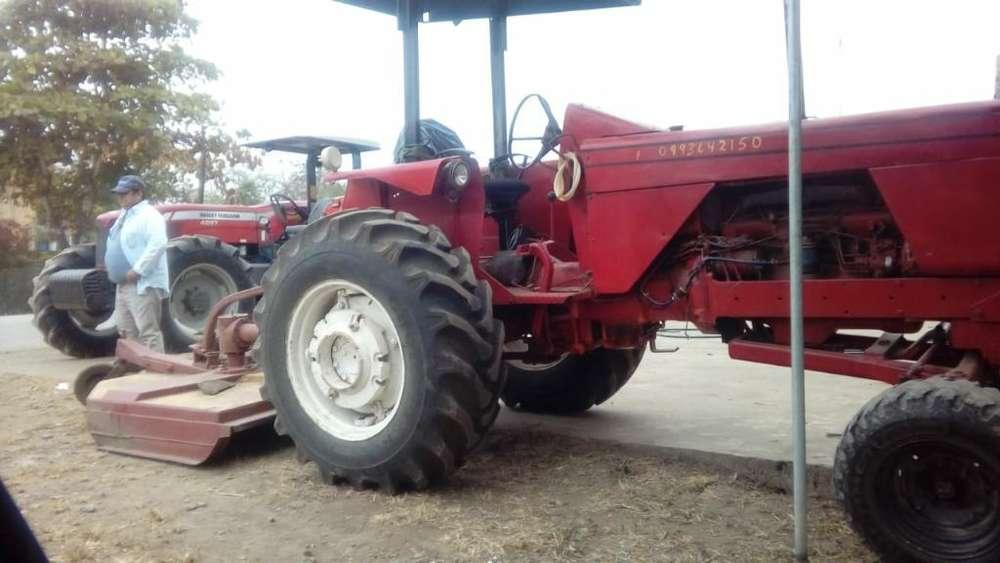 Tractor Agricola con Rosadora