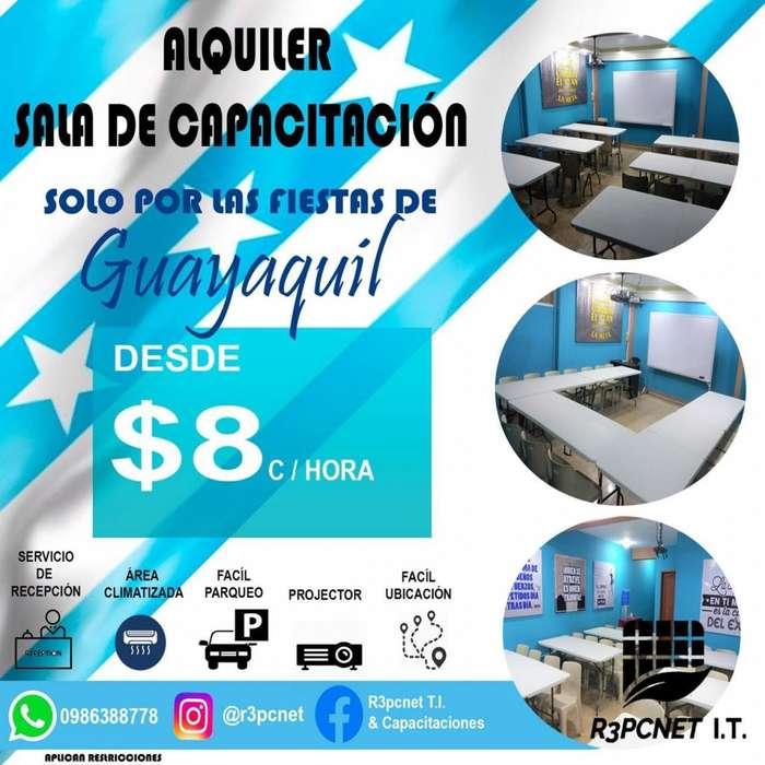 SUPER PROMO!!!... Alquiler Sala de Capacitación....