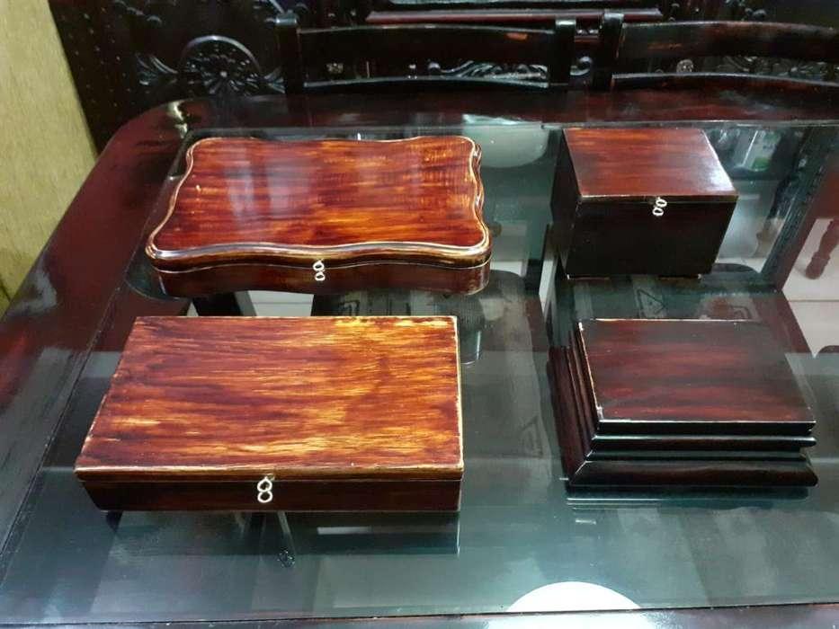 Cofres de Madera Tipo Antiguo