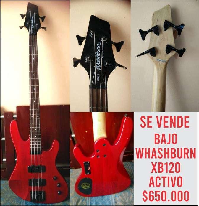 bajo activo washburn xb120