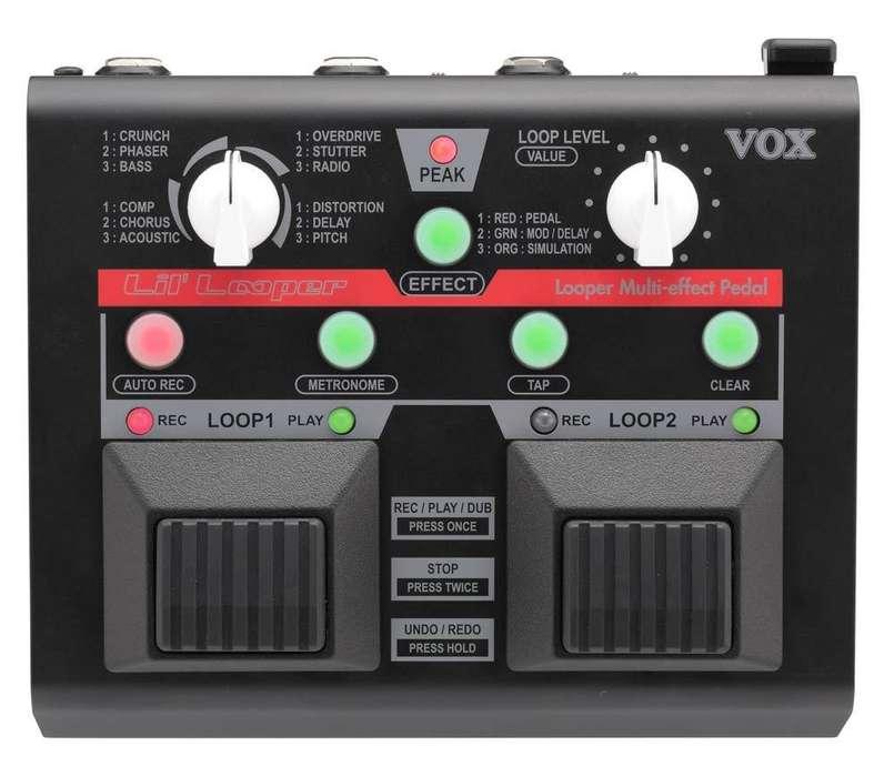 Pedal Vox Lil Looper Vll-1 Multi Effect Guitarra