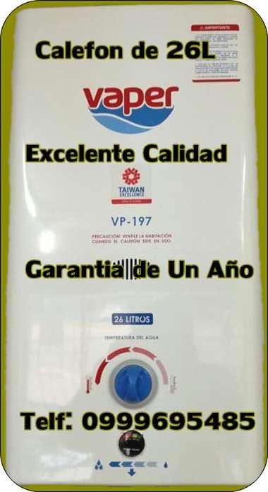 Calefon de 26 L Norte de Quito