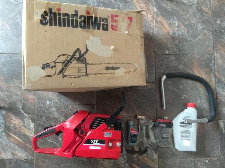 Motosierra Shindawa 577 Cilindrada: 57,3 cc Totalmente Nueva