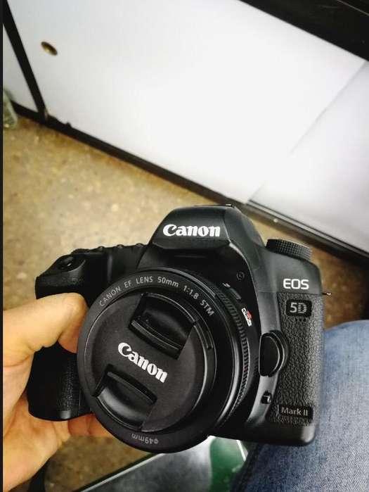 Camara Canon 5D Mark Ii Como Nueva